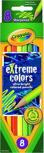 Crayola 8pcs Extreme Colored Pencils