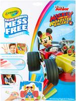 Crayola Mickey Mouse Roadster Racers Color Wonder Coloring Pad & Markers
