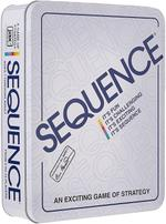 Sequence in a Tin-Original Sequence Game with Folding Board