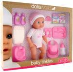 Dolls World Baby Tinkles 38 cm Doll