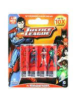 Justice League 4 x AA/LR6 Alkaline