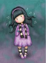 Comansi Gorjuss Little Song - Purple