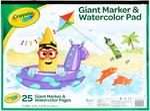 Crayola Paint Marker & Watercolor Pad