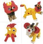 Bloco Lion & Meerkat