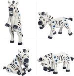 Bloco Giraffe, Zebra & Elephant