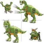 Bloco T-Rex & Triceratops