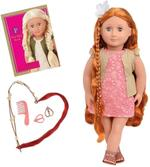 Our Generation Patience Red Hair grow Doll