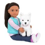 Our Generation Cassie Doll with Pet Dog