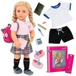 Our Generation Hally Deluxe School Girl Doll