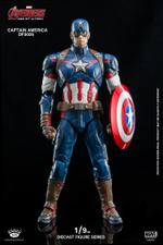 DFS026 King Arts 1/9 Diecast Captain America