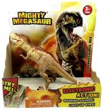 Mighty Megasaurs Light And Sound Dinosaur-Brown