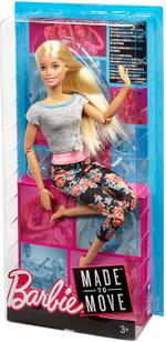 Barbie Made to Move Blonde Doll 2