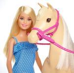 Barbie Doll & Horse, Blonde