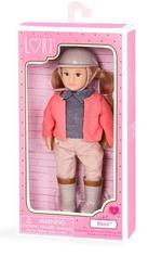 Lori 6 Inch Riding Doll With Windbreaker