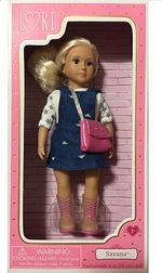 Lori 6 Inch Doll With Overall Dress   Savana