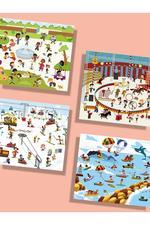 Mideer Fun Life Reusable Stickers