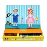 Mideer Boy & Girl Magnetic Dress up Game