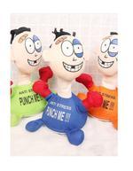 Battery Punch Me Doll Anti-Stress Stuffed Figure-Green