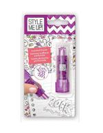 Style Me Up! Lipstick Shaped Eraser Purple