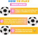 Bubble Pops- Black & White Football Puzzle Fidget Toy