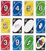 Uno Card Game Display