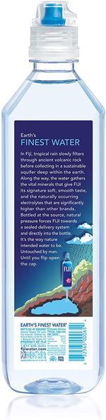 Fiji Water 700ml Sports Cap x12