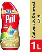 Pril All in 1 Gold Auto Grease Cutting Dishwash 1L
