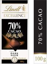 Lindt Excellence Dark 70% Bar 100g
