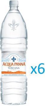 Acqua Panna Mineral Water in Bottle 1.5L x6