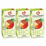 Hollinger Organic Apple 3x200ml Pack of 3