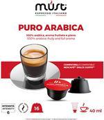 Must Espresso - Dolce Gusto Compostable Capsules, Puro Arabica