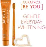 Curaprox BE YOU Rising Star[Grapefruit + Bergamot] Flavored WHITENING Toothpaste[90 ml] and Curaprox CS 5460 Curen® filaments Toothbrush SET