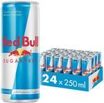 Red Bull Energy Drink, Sugar Free, 250mlx24