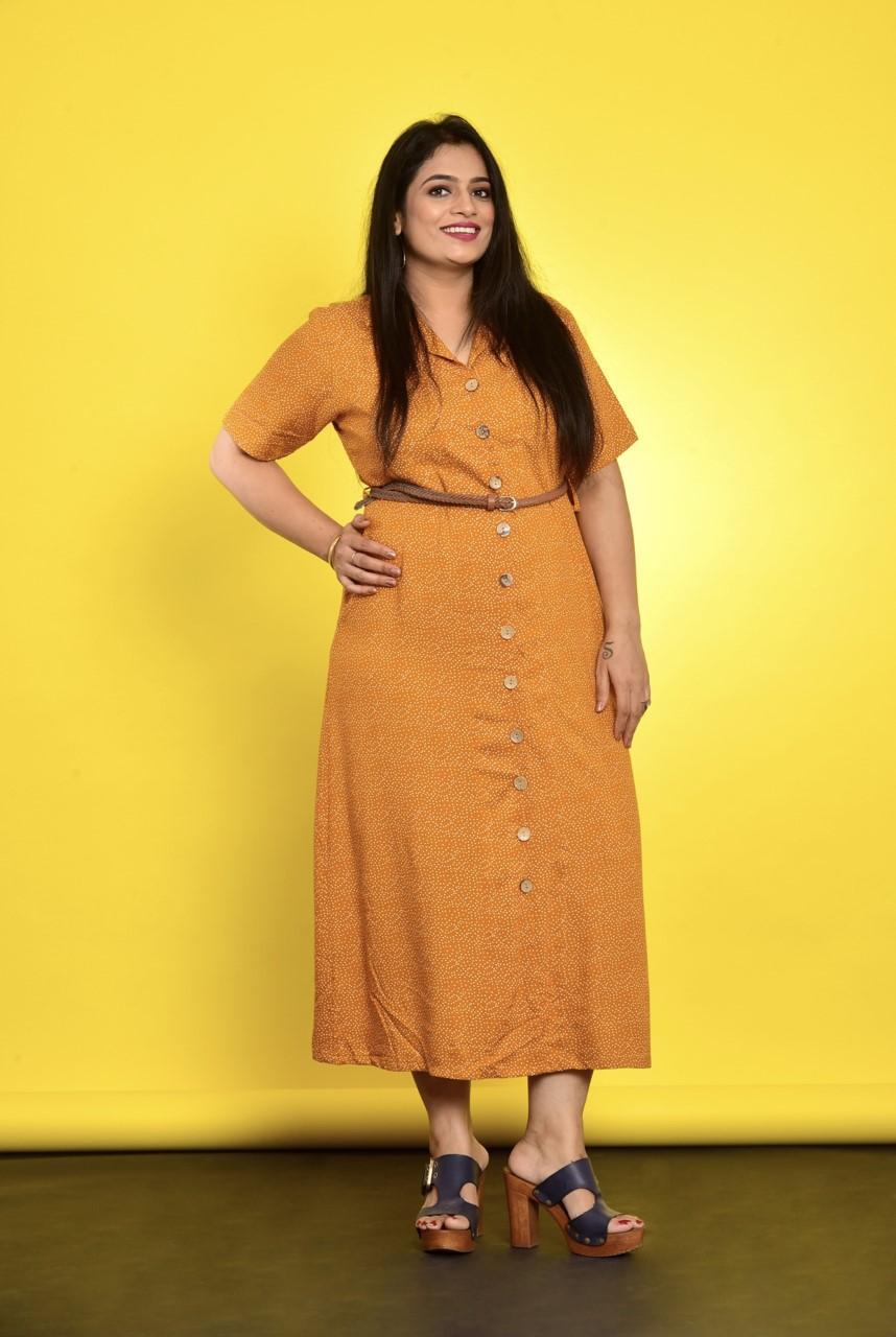 Polka Dot Shirt Dress