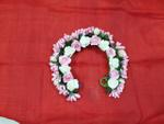 White & Pink Tiara For Woman