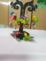 Handmade Cute Parrot Design Earrings