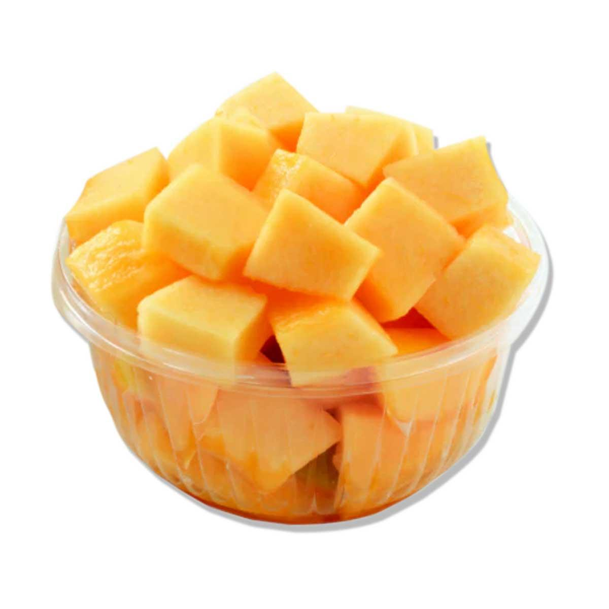 Sweet melon chunks