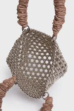 Embellished Pearl Tote Bag