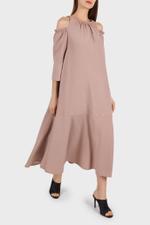 Braided Off-Shoulder Dress