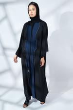 Two-Tone Abaya with Sheila