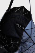 Lucent Metallic Wring Bucket Bag