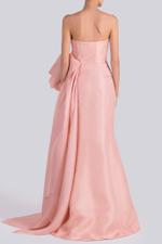 Gazar Bow and Fishtail Gown