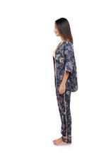 Printed Long 3-Piece Pyjama Set