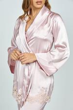 Romantic Rose three piece Pyjama Set - Rose