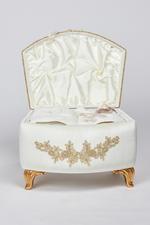 Rosengart Couples Bath Set in Velvet box - Ivory