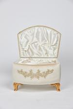 Electra Couples Bath Set in Velvet box - Ivory/Beige