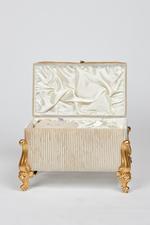 Terme Couples Bath Set in Velvet box - Ivory/Beige