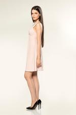 Short Velvet Nightdress - Rose