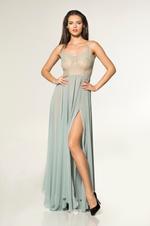 Chiffon & Lace Nightdress & Robe Set - Mint