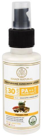 Khadi Natural Sunscreen Lotion SPF 30 - 100 ml